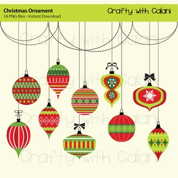 Holiday clipart christmas ornament. Art craft