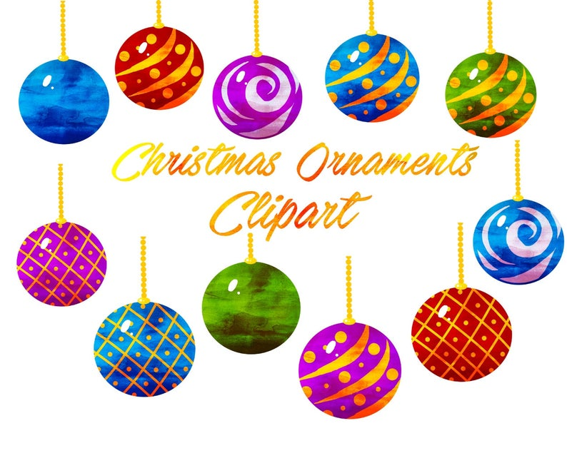 Holiday clipart christmas ornament. Clip art for personal