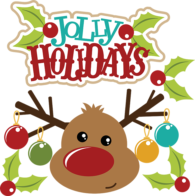 Holidays clipart holiday card. Jolly cuttable scrapbook svg