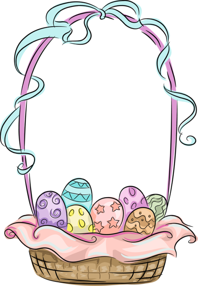 Web design baskets clip. Holiday clipart easter