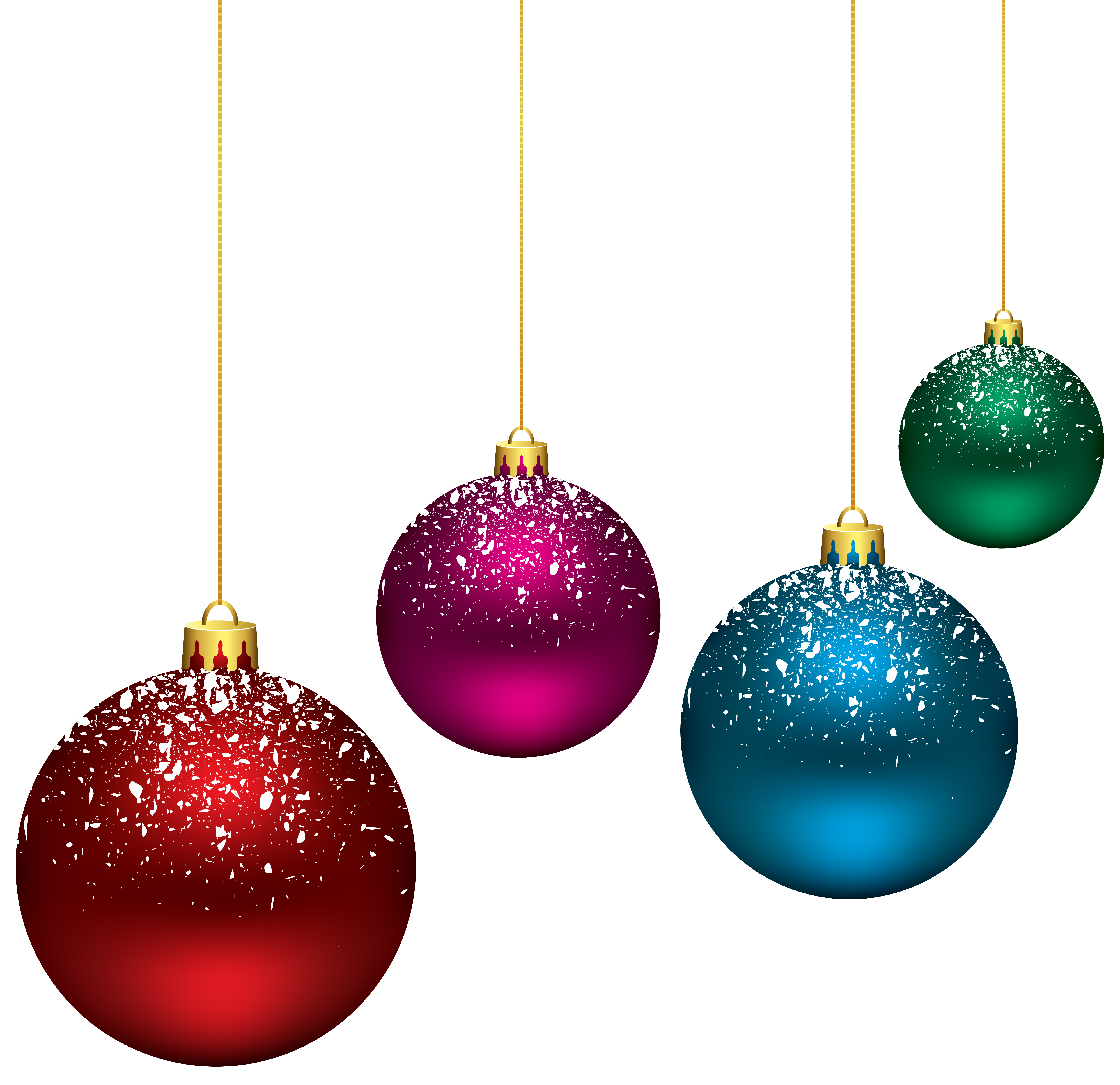 Staircase clipart christmas. Snowy balls png clip