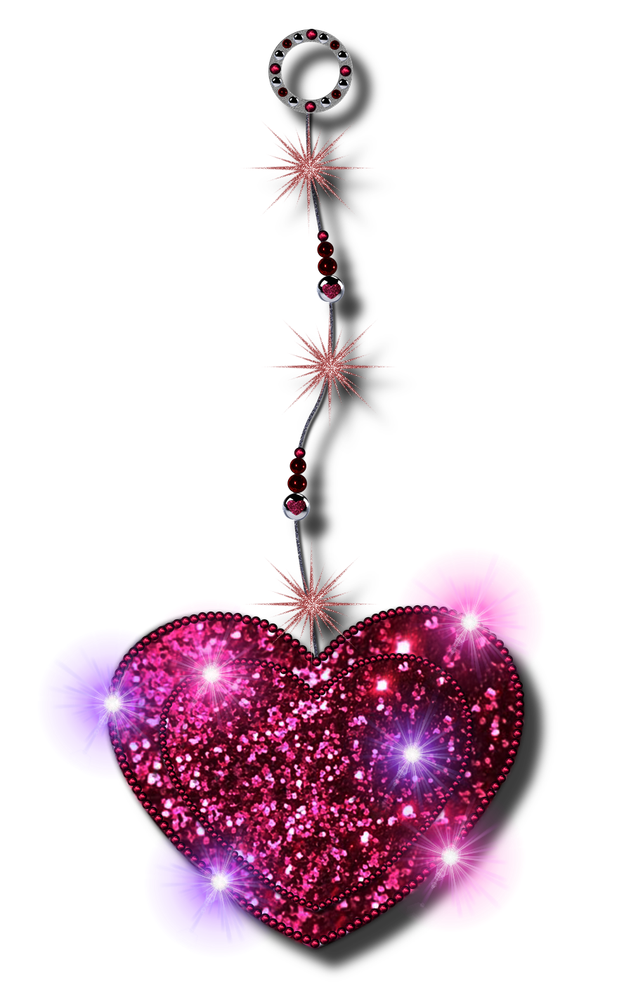 Png heart by jssanda. Holiday clipart glitter