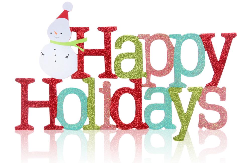Holiday clipart holiday season. Happy holidays chicago chromatography