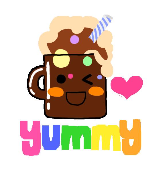 Holidays clipart hot chocolate. Rootbeer float cartoon art