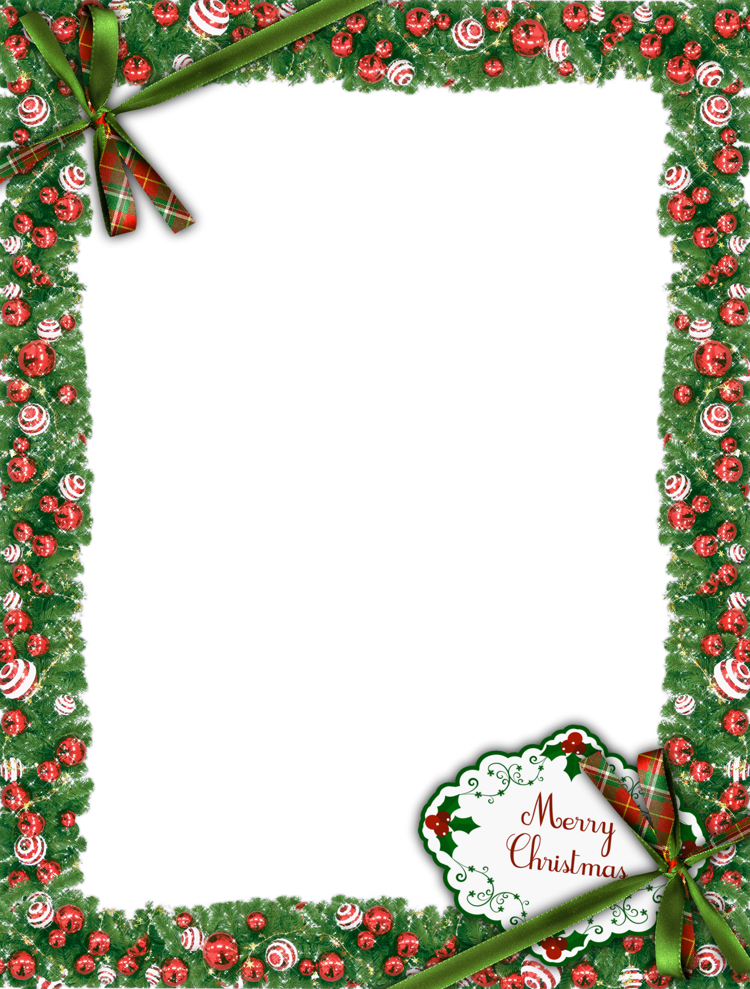 Green photo gallery yopriceville. Merry christmas frame png