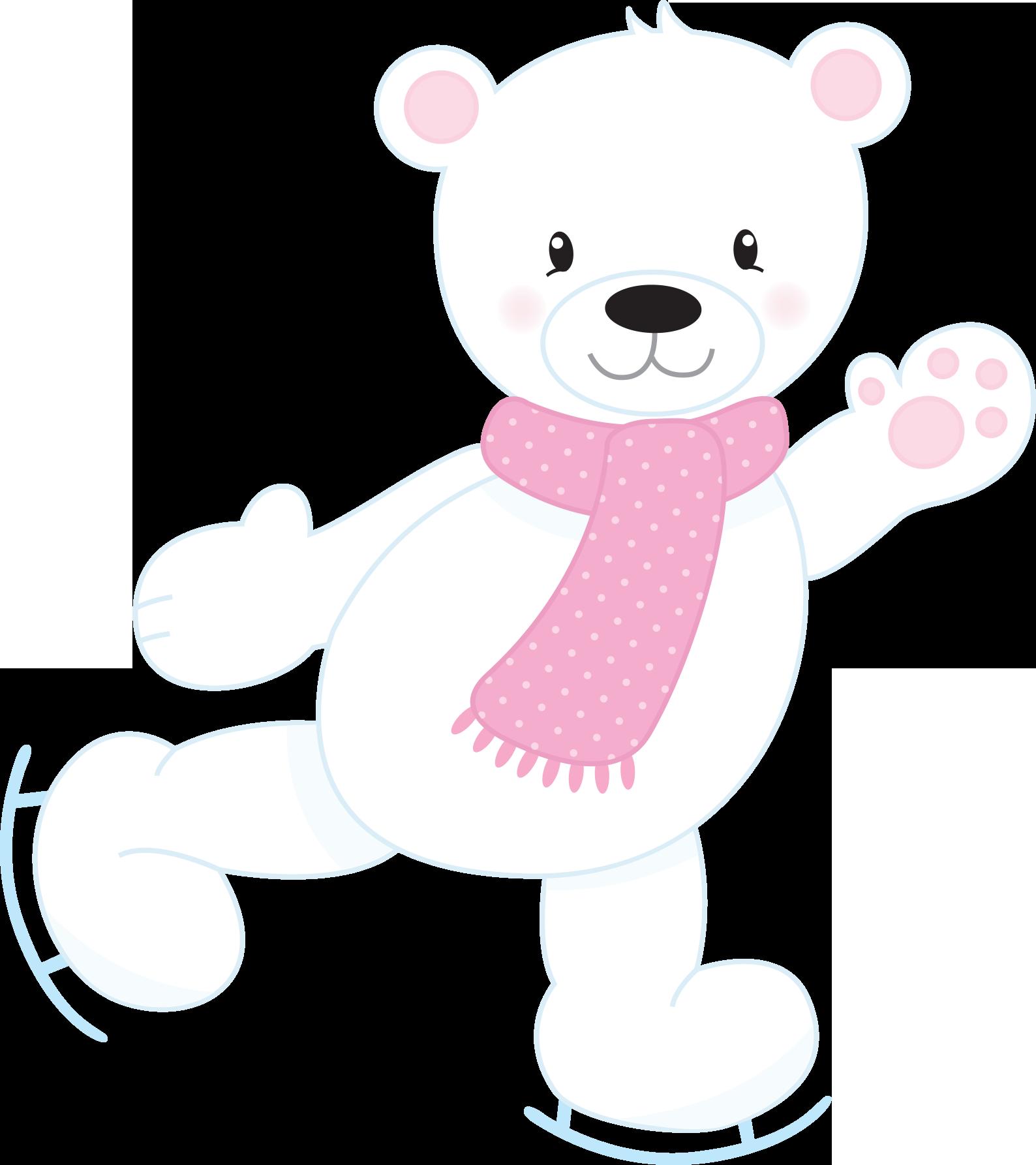 Holiday clipart polar bear. Ibq lwp mxcpsu png