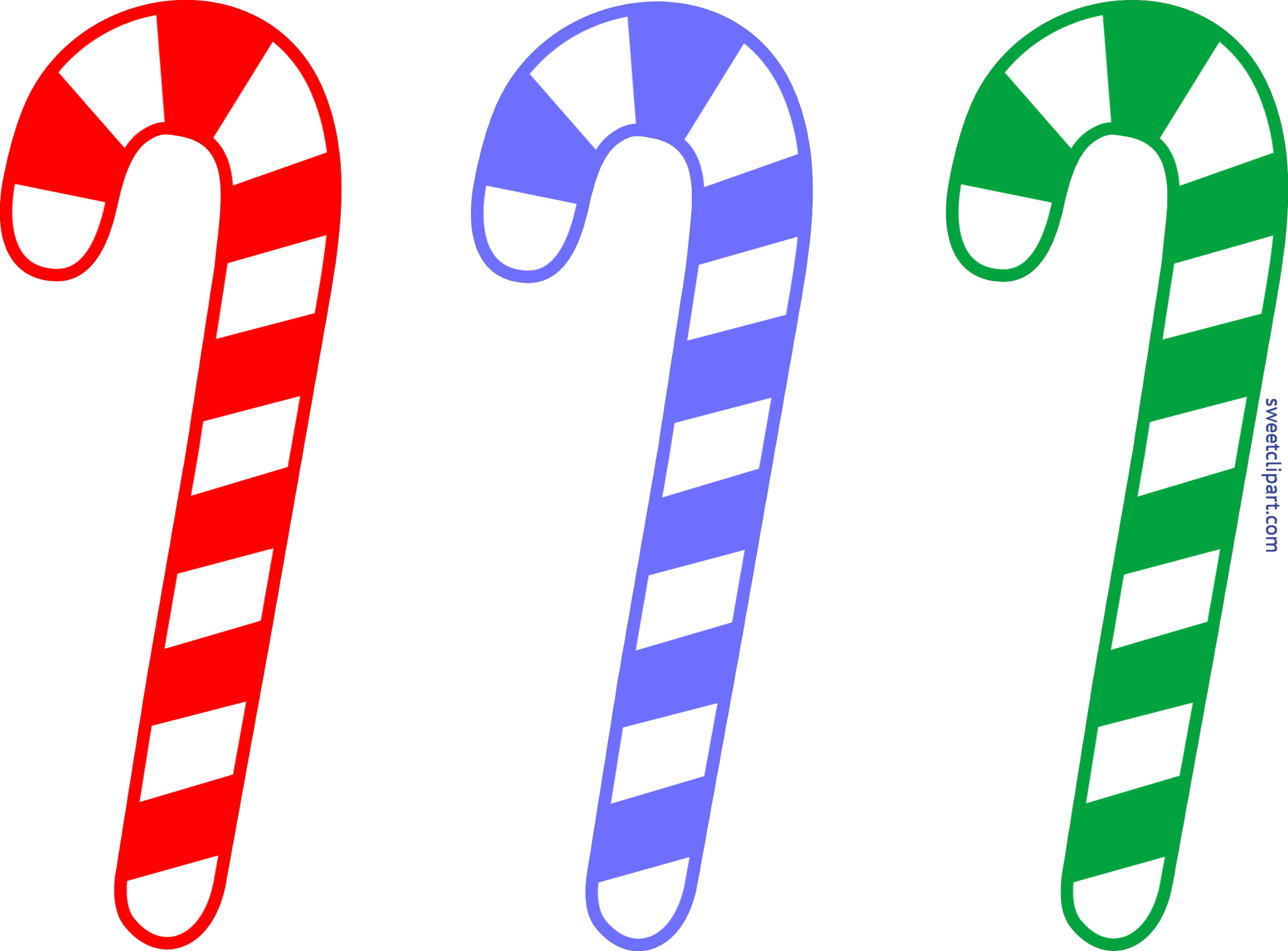 Holly clipart email. Christmas candy cane set