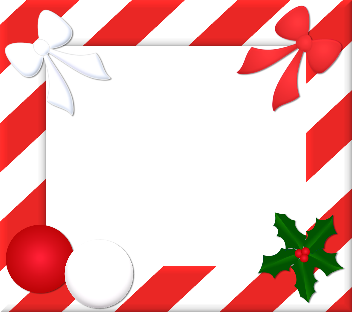 Dazzling photo frames christmas. Holiday frame png