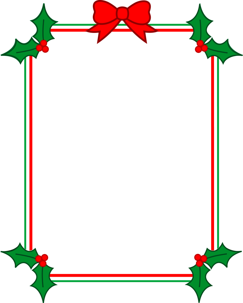 Holiday clip art free. Holidays clipart boarder