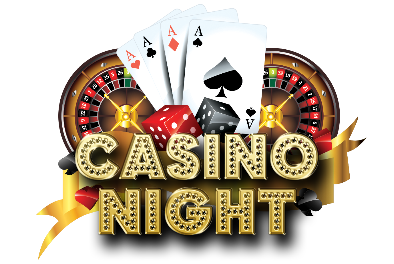 The chamber night is. Holidays clipart casino