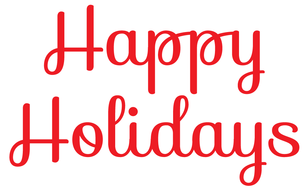 Happy from the hough. Holidays clipart end