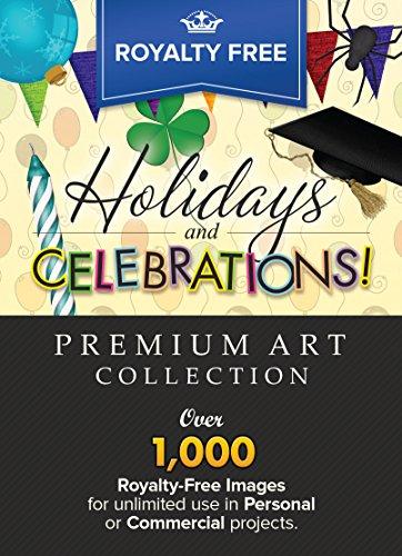 Royalty free premium celebrations. Holidays clipart flyer