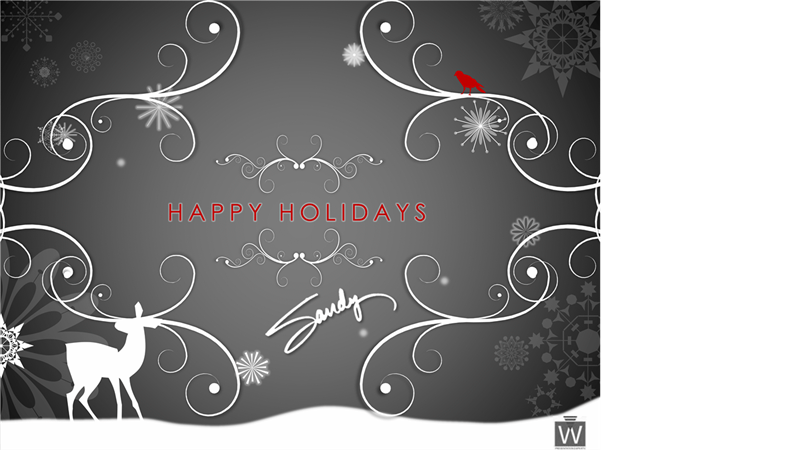 Christmas office com . Holidays clipart flyer