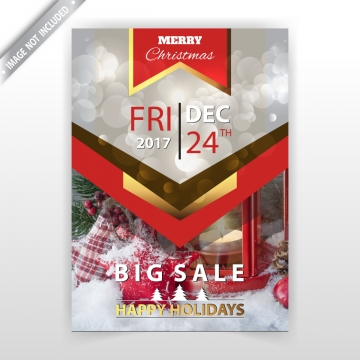 Holiday sale png vector. Holidays clipart flyer