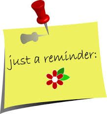 Holidays clipart reminder. This is a caption