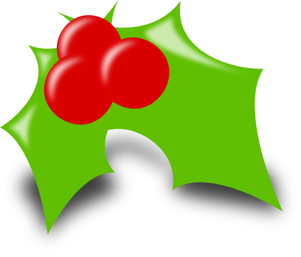Clipart free holly. Clip art at clker