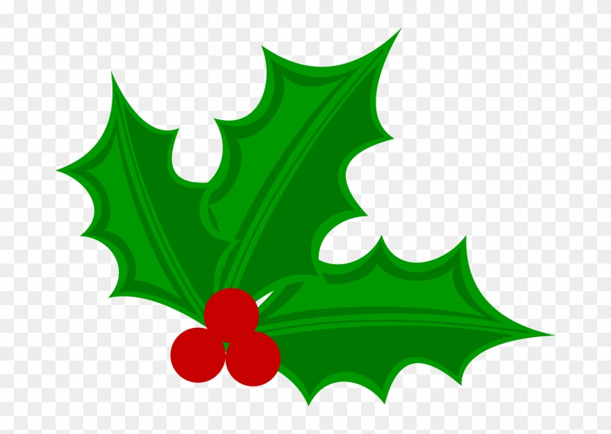 Transparent background png . Holly clipart