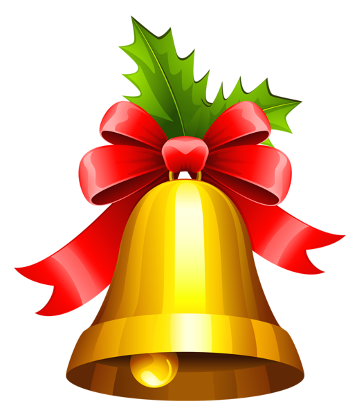 Holly clipart bell. Christmas transparent png gallery