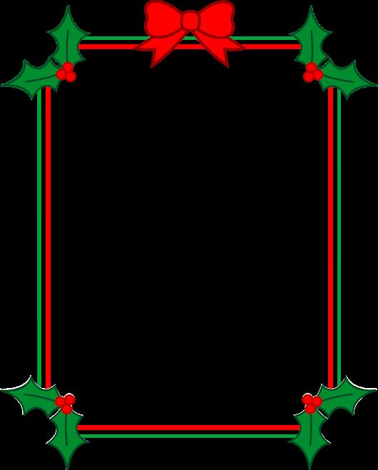 Christmas clip art google. Holly clipart border