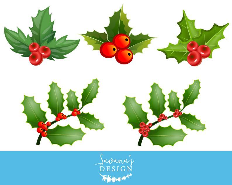 Holly clipart christmast. Mistletoe clip art berries