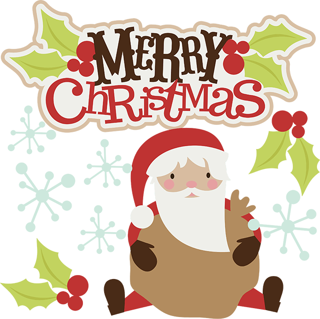 Merry christmas free images. Holly clipart cute