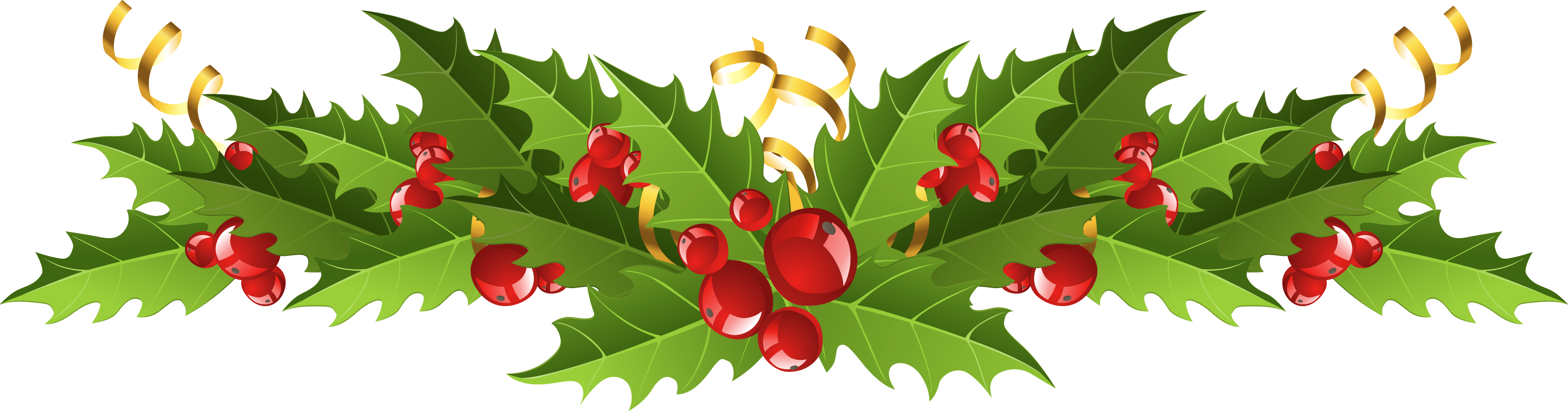 collection of christmas. Poinsettia clipart swag