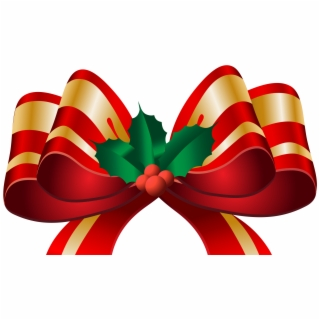 Free christmas png images. Holly clipart hair bow
