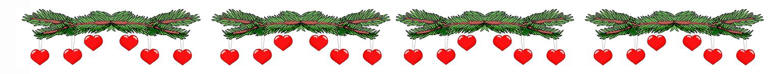 Holly clipart top border. Christmas clip art borders