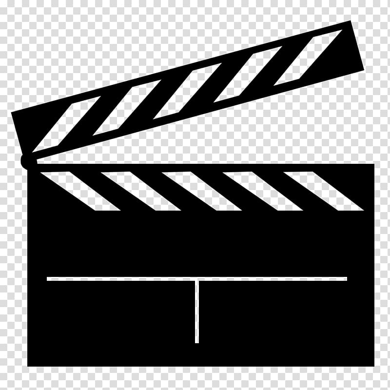 Film clapperboard silhouette youtube. Hollywood clipart black and white