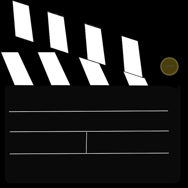 Movie clipart marker board. Contemporary clapboard template model