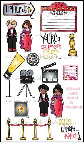 Hollywood clipart classroom. Clip art theme