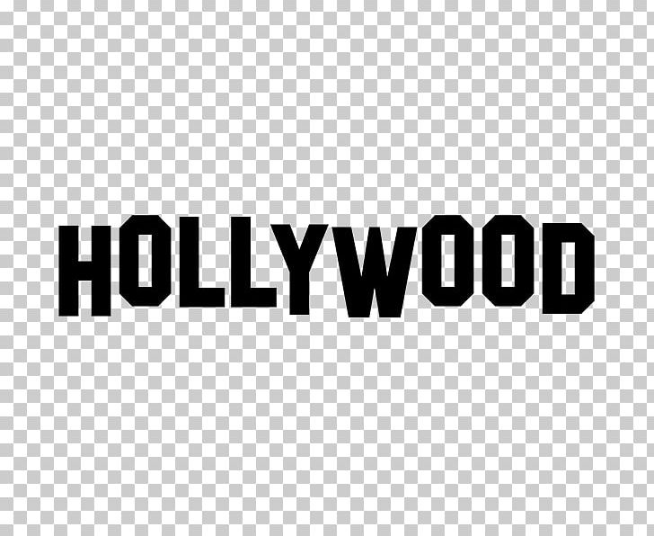 Sign boulevard wall sticker. Hollywood clipart decal