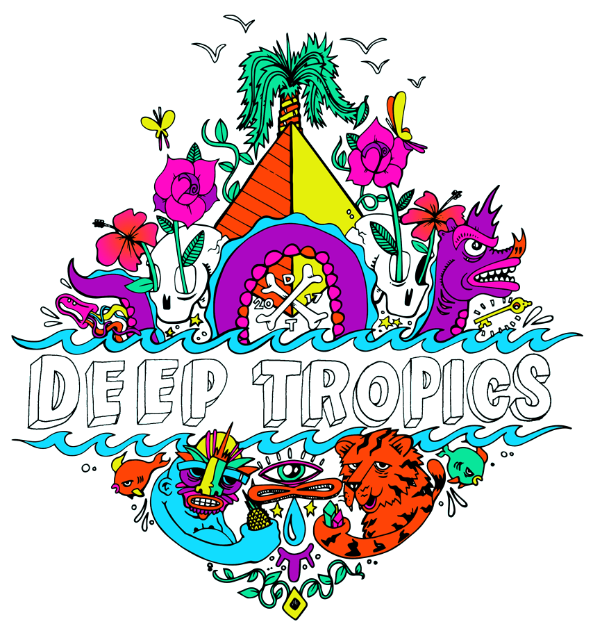 Hollywood clipart flood light. Deep tropics music art