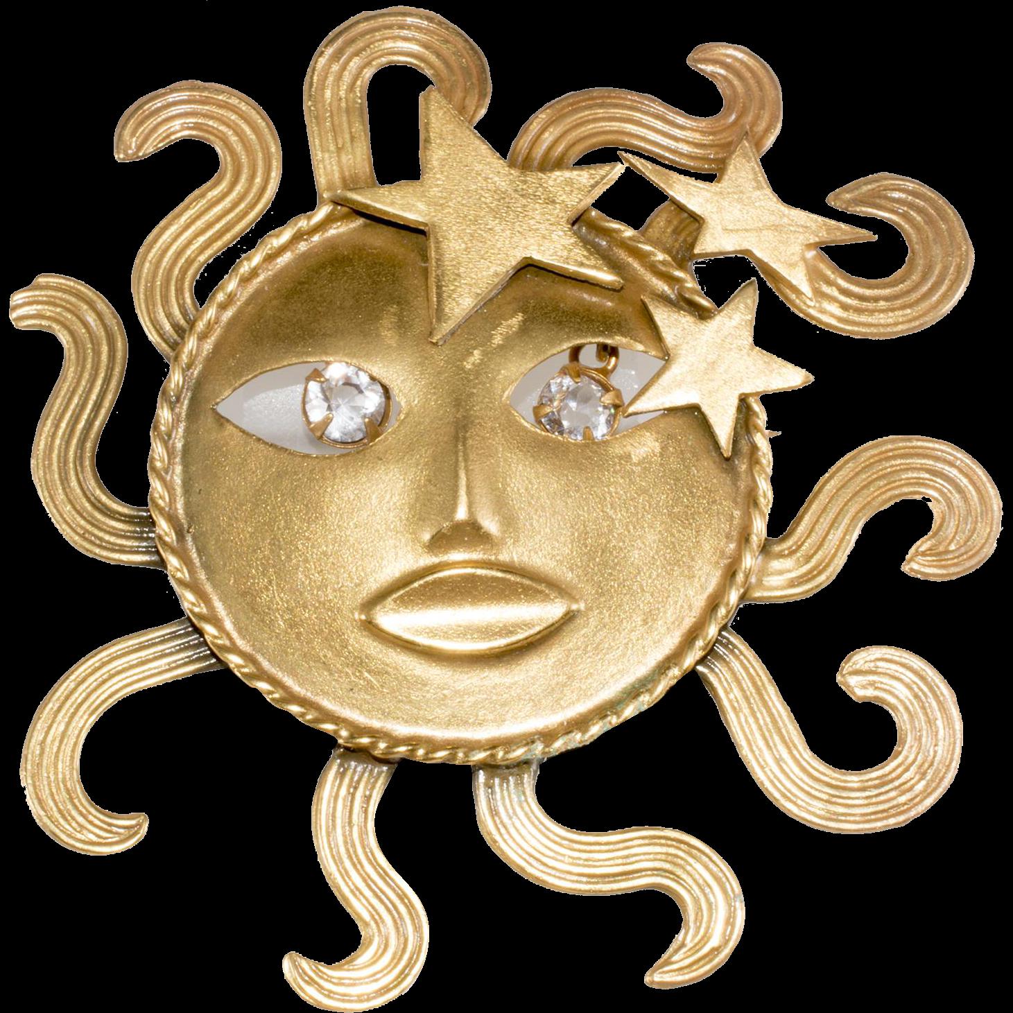 Joseff of sun god. Hollywood clipart hollywood vintage