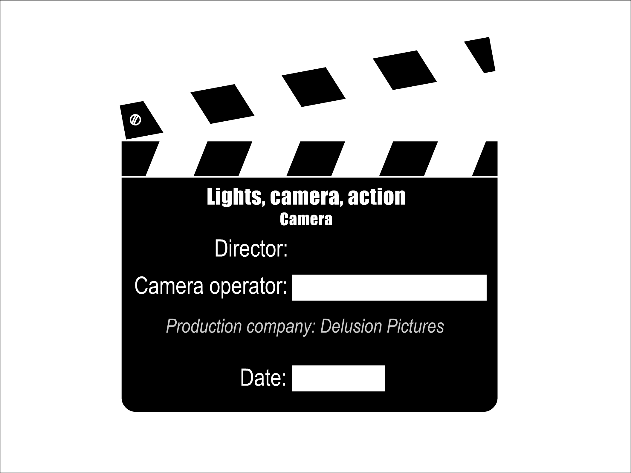 Lighting clipart lights camera action. Democraciaejustica