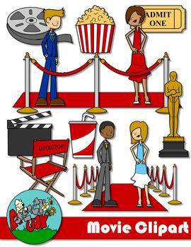 Hollywood clipart movie hollywood.