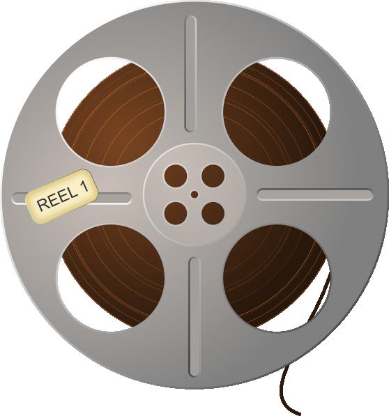 Wheel clipart movie. Film reel clip art