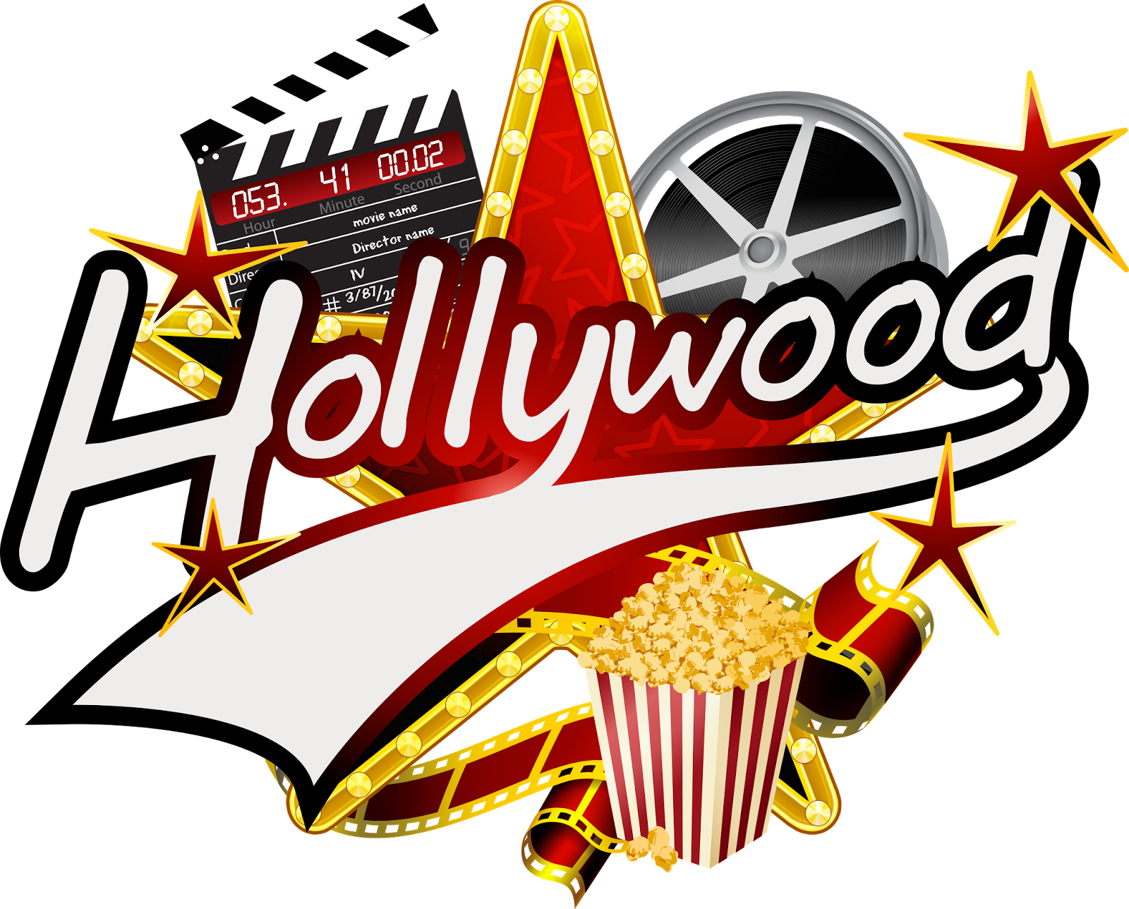 Hollywood clipart movie scene. What do you know