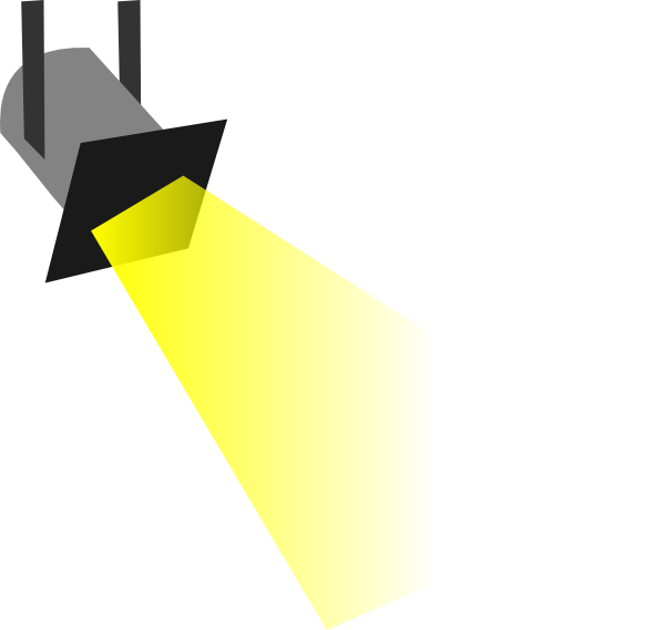 Free pictures clipartix. Flashlight clipart spotlight