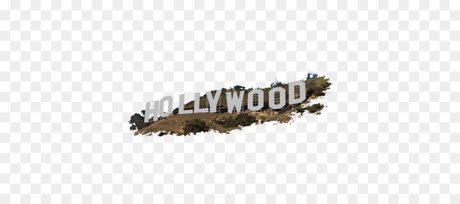 Hollywood clipart text. Sign font transparent