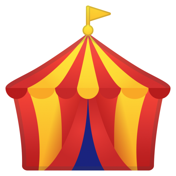 Hollywood clipart theatre marquee.  circus tent huge