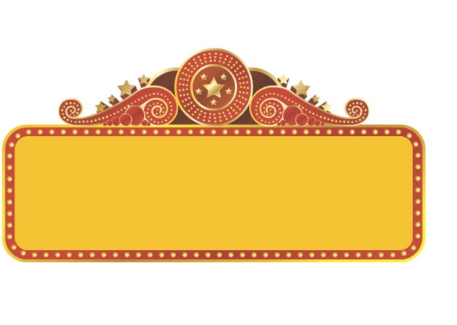 Free images at clker. Hollywood clipart theatre marquee