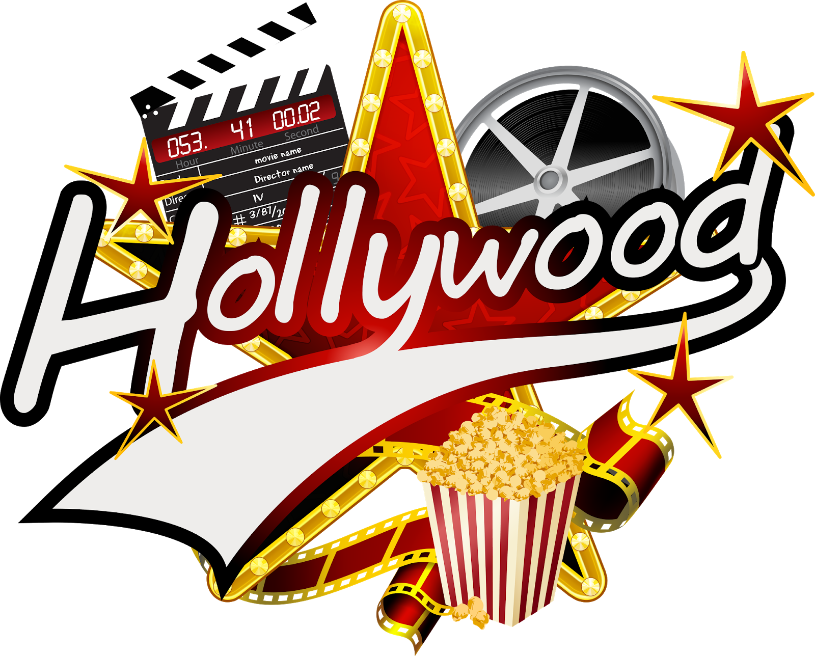 Hollywood clipart themed hollywood. Parties glamour