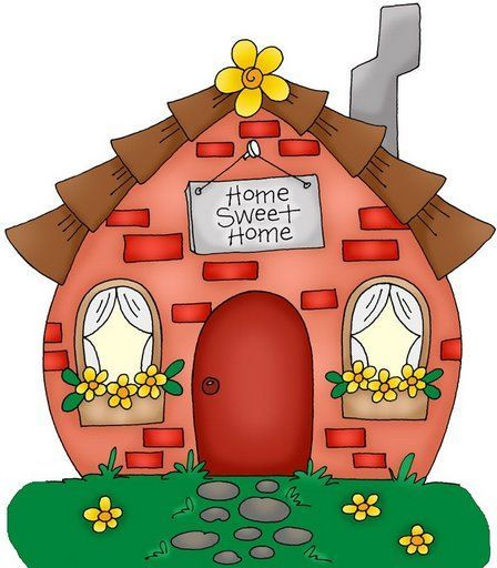 Mushroom clipart sweet home. Pinterest clip art