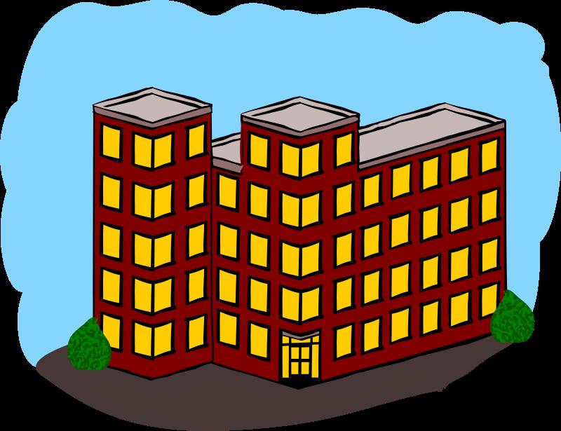 Building house clip art. Apartment clipart flat hdb