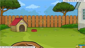 House clipart backyard. An anteater and a