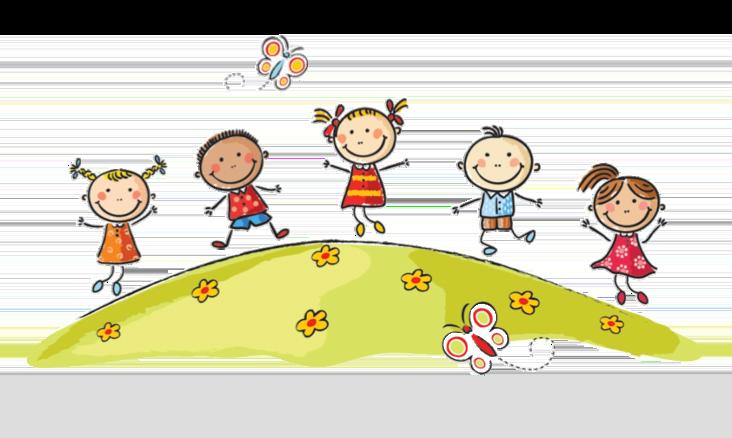 Home clipart children's. Harpurs hill children playing