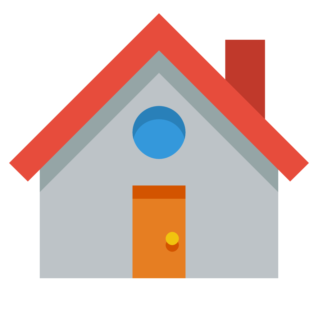 Small flat iconset paomedia. House png icon