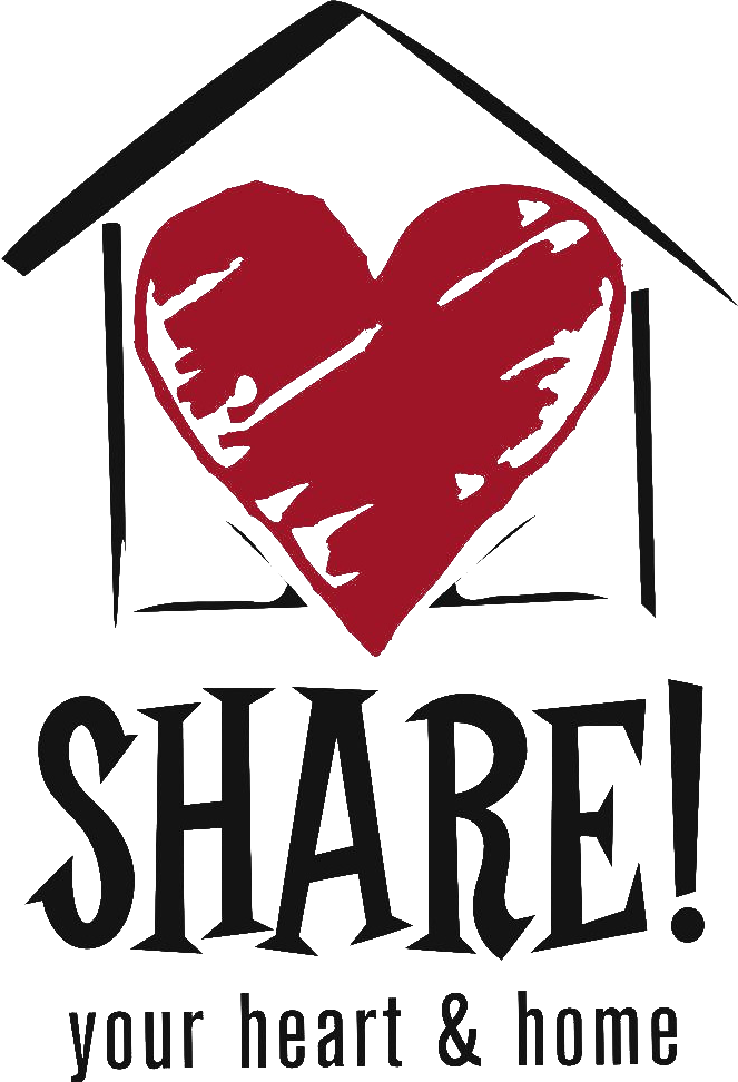 Student exchange program host. Home clipart heart