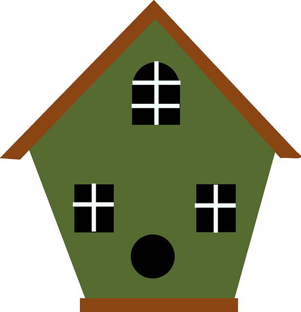 Free image on pixabay. Houses clipart birds
